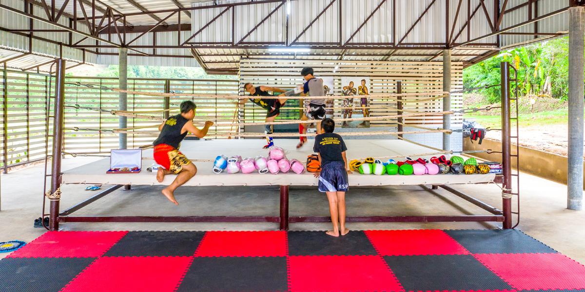 Suwit Muay Thai for strengthening your skeleton